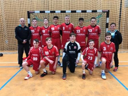 Gesamtschüler erreichen im Handball den Landesentscheid