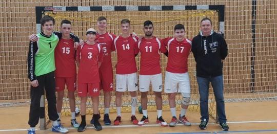 Erfolgreich beim Regionalentscheid Handball WK II und WK III