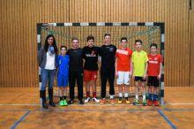 Landesentscheid im Handball in Bensheim WK III