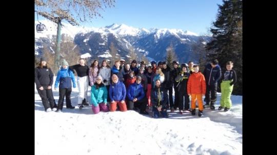 Premierenfahrt der Schneesport-AG