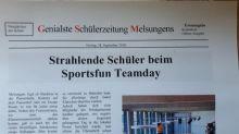 Schülerzeitung 1. Ausgabe
