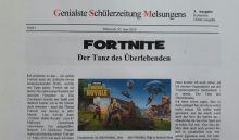 Die dritte Ausgabe der Schülerzeitung ist da! (jetzt mit Link)