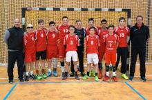 Schulmannschaft siegt bei Kreisentscheid Handball