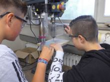 Jugendliche erproben Berufsfelder in der Jugendwerkstatt